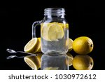 close up of refreshing healthy... | Shutterstock . vector #1030972612