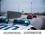 Police Car Following Cars...