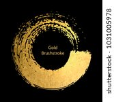 gold round design templates for ... | Shutterstock .eps vector #1031005978