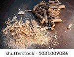 close up of ayurvedic herb... | Shutterstock . vector #1031009086