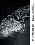close up of ayurvedic herb... | Shutterstock . vector #1031009092