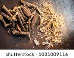 close up of ayurvedic herb... | Shutterstock . vector #1031009116