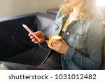 female freelancer concept.... | Shutterstock . vector #1031012482