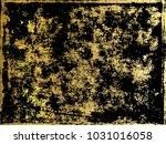 gold  marbling texture design... | Shutterstock .eps vector #1031016058