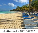 cancun  mexico   january 27 ... | Shutterstock . vector #1031042962