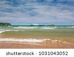 santander spain   july 1  2017  ... | Shutterstock . vector #1031043052