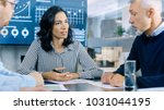 group of smart and respectable...   Shutterstock . vector #1031044195