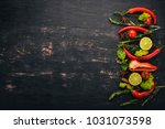 the background of cooking. a...