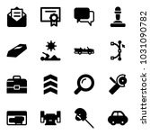 solid vector icon set   opened... | Shutterstock .eps vector #1031090782