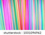 many different colored plastic... | Shutterstock . vector #1031096962