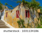 beautiful view of plaka athens   Shutterstock . vector #1031134186