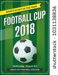 football   soccer vertical... | Shutterstock .eps vector #1031138836