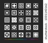 design elements   square... | Shutterstock .eps vector #1031140162