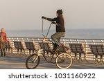 long beach  new york   02 21...   Shutterstock . vector #1031160922