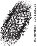 vector trail design trace of... | Shutterstock .eps vector #1031166298