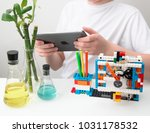 minsk  belarus. february  2018... | Shutterstock . vector #1031178532