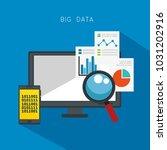 big data set icons | Shutterstock .eps vector #1031202916