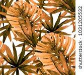 watercolor seamless pattern... | Shutterstock . vector #1031205532