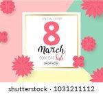 international happy women's day ...   Shutterstock .eps vector #1031211112