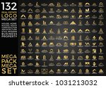 mega set and big group  real... | Shutterstock .eps vector #1031213032