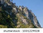 kopaonik mountain cliffs and... | Shutterstock . vector #1031229028