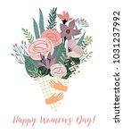 international women's day....   Shutterstock .eps vector #1031237992