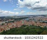 view of prague | Shutterstock . vector #1031242522