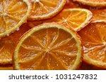 Dried Slices Of Orange In Sugar ...
