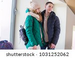 couple of the travellers in... | Shutterstock . vector #1031252062