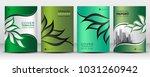 green cover design template... | Shutterstock .eps vector #1031260942