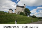 medieval castle on the hill | Shutterstock . vector #1031263312