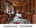 Abandoned Library  Hdr    Urba...