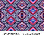 indian embroidery. geometric... | Shutterstock .eps vector #1031268505