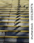 ascending concrete stairs  or... | Shutterstock . vector #1031283976
