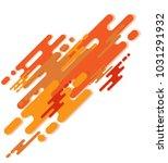 dynamic geometric background...   Shutterstock .eps vector #1031291932
