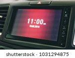 car touch screen head unit... | Shutterstock . vector #1031294875