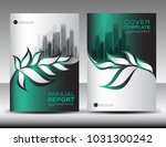 green cover design template... | Shutterstock .eps vector #1031300242