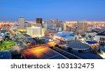El Paso Texas Skyline At Night...