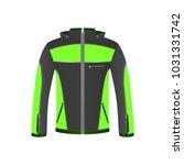 men's sports and tourist jacket ... | Shutterstock .eps vector #1031331742