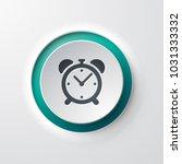 web icon push button alarm clock | Shutterstock .eps vector #1031333332