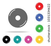 disc web icon. elements in... | Shutterstock .eps vector #1031334622