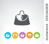 fashion bag icons | Shutterstock .eps vector #1031362828