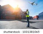 foreman control loading... | Shutterstock . vector #1031381065