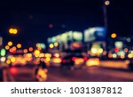 abstract blur image of night ... | Shutterstock . vector #1031387812