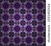 cotton or silk headscarf ... | Shutterstock .eps vector #1031402416