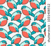 seamless vector pattern  ... | Shutterstock .eps vector #1031408512