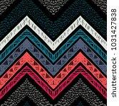 handmade stripes bright tribal... | Shutterstock .eps vector #1031427838