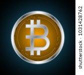 bitcoin  money and finance....   Shutterstock .eps vector #1031428762