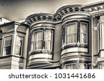 classic home architecture of... | Shutterstock . vector #1031441686