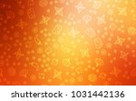 light red  yellow vector... | Shutterstock .eps vector #1031442136